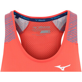 Mizuno Aero Top Kobiety, hot coral
